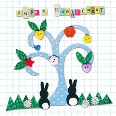 print & pattern: Pootle cards - fabric collages