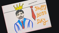 Happy Boss's Day, Drawing Competition, Bosses Day