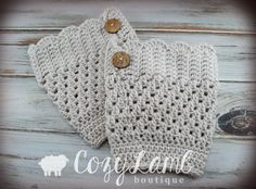 Scallop Crochet Boot Cuff  Boot Topper by CozyLambBoutique on Etsy, $20.00