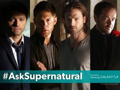 Have questions for Supernatural? Use #AskSupernatural in the comments to have them answered by the cast at Comic-Con® 2014! #CWSDCC