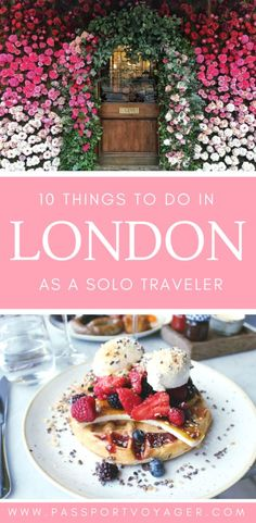 Traveling London alo