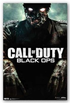 Amazon.com: (22x34) Call of Duty Black Ops Zombie Video Game Poster: Home & Kitchen $2.88