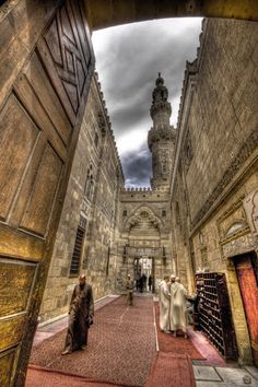 Al-Azhar mosque in Old Cairo ... place where i want to sit and spend time inshallah ...