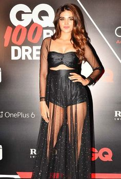 Bollywood Actresses at GQ 100 Best Dressed 2018     http://blogonbabes.com/bollywood-actresses-at-gq-100-best-dressed-2018/     #Bollywood #NidhhiAgerwal
