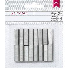 Mini Stapler Refill Staples, Gray