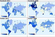 Die populärsten sozialen Netzwerke – Eine Übersicht   3.11.2011