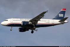 N754UW US Airways Airbus A319-100