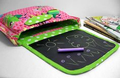 Chalkboard Activity Art Children's Bag in Littlest by SewEndless, $35.00
