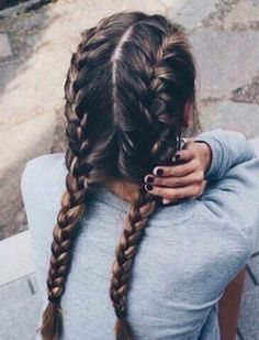French Braids Picture french braids flettet hr fletter i hr og franske fletter French Braids. Here is French Braids Picture for you. French Braids braid 11 half up french braids. French Braids cornrows french braids rastas in hes. Hair Inspo, Hair Inspiration, Pretty Hairstyles, Summer Hairstyles, Updos Hairstyle, Wedge Hairstyles, Hairstyle Ideas, Formal Hairstyles, Bouffant Hairstyles