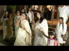 Aishwarya Rai with family at father Krishnaraj Rai's prayer meet. Aishwarya Rai Latest, Prayer Meeting, Gossip, Interview, Father, Photoshoot, Music, Youtube, Pai