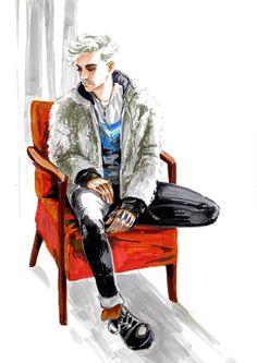 #tokiohotel #kaulitz #art / / Bill Kaulitz