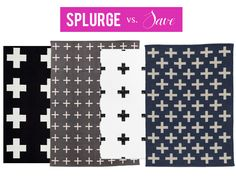 """decorating HOW TO: Perhaps it's the Emily Henderson effect (remember that amazing Red Cross flag she had over her sofa?), but Swiss Cross rugs are having a major moment right now. Call them """"plus sign"""" rugs if you like, they'll still be one of the... - See more at: http://www.decorist.com/inspiration/427/splurge-vs-save-swiss-cross-rugs#sthash.YyHsvTET.dpuf"""