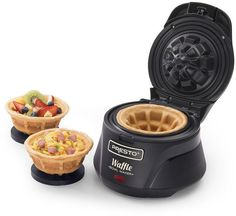 Make thick, fluffy and tender waffles using this Presto Belgian Waffle Bowl maker. Cool Kitchen Gadgets, Kitchen Items, Kitchen Tools, Cool Kitchens, Kitchen Appliances, Kitchen Dining, Small Appliances, Bosch Appliances, Electrical Appliances