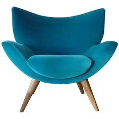 Buy John Lewis Bump Chair Varese Turquoise online at JohnLewis.com ($2,170) found on Polyvore