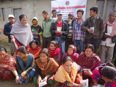 Sindhuli Kamalamai Lions Club (Nepal) | Lions distributed winter seeds to 64 low income needy families