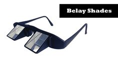 Belay Shades Belay Glasses by Blicard Venetian Mirrors, Climbers, Bouldering, Matte Black, Shades, Glasses, Bags, Unique Products, Giveaway