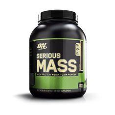 Optimum Nutrition Serious Mass Weight Gainer Protein Powder, Chocolate, 6 Pound #gainmuscle