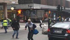 Al menos tres muertos arrollados por un camión en Estocolmo