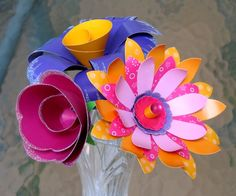 all things paper: Fabulous Flowers - Klutz Book Giveaway!