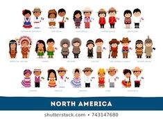 Find Americans National Clothes North America Set stock images in HD and millions of other royalty-free stock photos, illustrations and vectors in the Shutterstock collection. Thousands of new, high-quality pictures added every day. Anastasia, Westerns, Line Sticker, Flat Illustration, New Pictures, Royalty Free Photos, Cartoon Characters, Kids Playing, North America