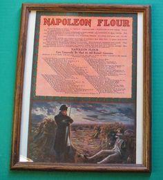 Napoleon Flour Napoleon and The Sleeping Guard 11x14 Framed Bonaparte | eBay