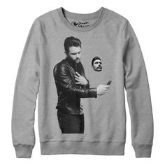 Official James Franco Selfie Authentic Limited SWEATSHIRT 3XL Long sleeve Shirt #GraphicTee