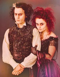Sweeney Todd - Johnny Depp & Helena Bonham Carter