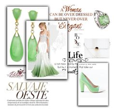 """""""Green/white"""" by spolyvore1 ❤ liked on Polyvore featuring New Look, ASOS, Yull, BillyTheTree and WALL"""