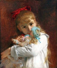 a new doll Academic Classicism Pierre Auguste Cot art for sale at Toperfect gallery. Buy the a new doll Academic Classicism Pierre Auguste Cot oil painting in Factory Price. Pierre Auguste Renoir, Edouard Manet, William Adolphe Bouguereau, Classic Paintings, Beautiful Paintings, Contemporary Paintings, Toulouse, Monet, August Renoir