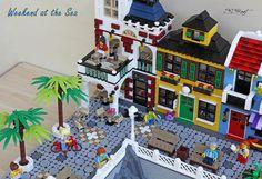 Weekend at the Sea Lego Beach, Lego Ideas, Advent Calendar, Sea, Toys, Holiday Decor, Street, Activity Toys, Advent Calenders