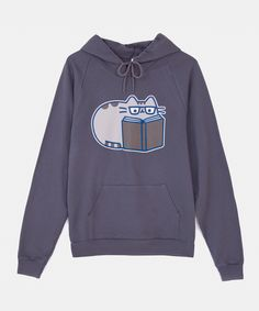 Reading Pusheen unisex hoodie