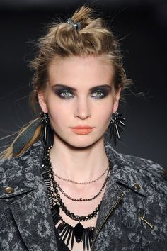 The Hottest Makeup Trends For Fall 2014 - Line Dance - Nicole Miller
