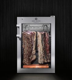 The small Dry Aging Refrigerator for home & commercial use Restaurant Layout, Restaurant Interior Design, Dresden Restaurant, Carne Maturada, Meat Love, Dry Aged Beef, Beautiful Kitchens, Dream Kitchens, The Ranch