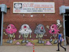 Buff Monster, Bushwick Collective | Flickr: Intercambio de fotos