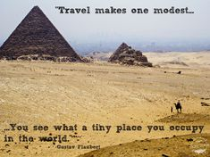 Visiting the Pyramids in Cairo, Egypt while traveling Facing Fear, Ways Of Seeing, Cairo Egypt, New Perspective, Disappointment, Travel Quotes, Passport, Monument Valley, Traveling By Yourself