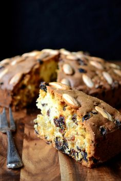 Dundee Cake is a light fruit cake, first made by the Scottish marmalade company, Keiller's, in the nineteenth century. It is the perfect bake for those who yearn for a treat somewhere between a Christmas cake and a sponge – not too rich, but not overly light and airy. As with most of my creations, this recipe stays true to tradition and is decorated with concentric circles of blanched almonds
