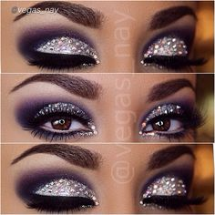 Gaahhh! I love this look by Vegas_Nay! Looks gorgeous with the subtle purple & the rhinestones! - LR