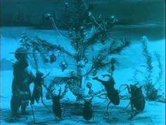 Рождество обитателей леса - 1912. Старый русский мультфильм Старевича