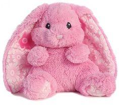 Bunny Pink Plush Animal Doll Toy Soft Kids Gift Small Decoration Christmas Tree #Aurora