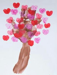 Heart Tree Valentine's crafts