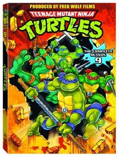 Teenage Mutant Ninja Turtles - Heroes in a Half-Shell, Turtle Power! Classic 1980's and 90's.