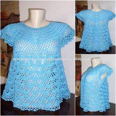 MT4282 Blusinha em crochet com linha Camila (coats corrente) cor 1174 -  100% algodão mercerizado - cotton Tamanho P medidas: comprimento: 51cm - largura: 43cm - cava: 19cm  Consulte-nos sobre demais tamanhos e cores R$ 98,00