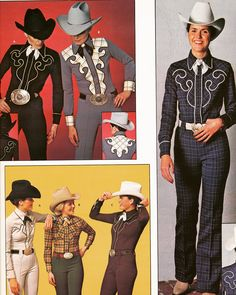 Oh I had this outfit in teal and brown plaid - Schneiders Western Catalog Fashions from 1980 Vintage Cowgirl, Retro Vintage, Country Fashion, Country Style, 80s Fashion, Vintage Fashion, Western Show Clothes, French Women Style, American Casual