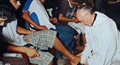 Los Santos Óleos y el Lavatorio de pies - Aleteia