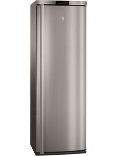 Husqvarna QT3460X frys. Det silverfärgade frysskåpet är energieffektiv i energiklass A++. Frysen är rymlig på 229 L.