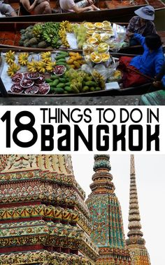 The best of Bangkok in one post! Find all of the top things to do in Bangkok for any itinerary. Travel in Asia.