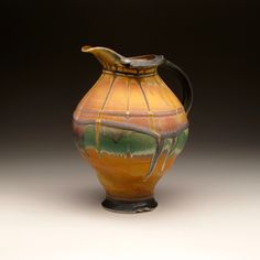 can teach you the skills to produce your own ceramic art and inspire your own artist with our gallery displaying a beautiful range of functional and sculpture art. Ceramic Studio, Ceramic Art, Ceramic Pitcher, Sculpture Art, Steven Hill, Pottery, Vase, Ceramics, Pots