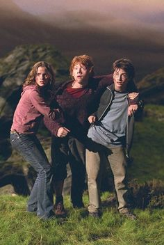 Harry Potter, Hermione Granger & Ron Weasley