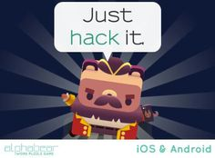 New game. Characters are soo cute. #alphabear