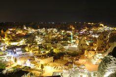 Night view, cappadocia.